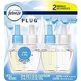 Febreze Plug In Air Fresher Scented Oil Refill, Odor Eliminator, Linen & Sky, 52 mL