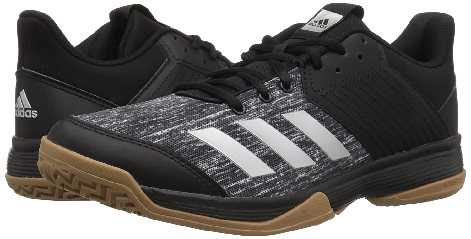 adidas Women's Ligra 6 Volleyball Shoe B077X66QM8 10.5 B(M) US|Black/Silver Metallic/White