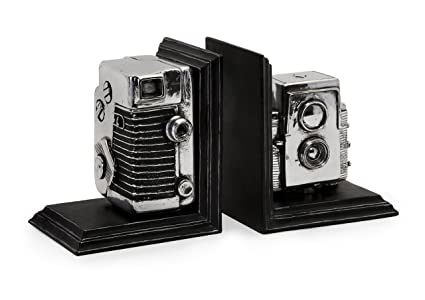 Amazon Imax 40 Vintage Camera Bookends Decorative Bookends Inspiration Decorative Bookends For Sale