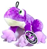 Pet Qwerks Frog Squeaky Sound Plush - Strong & Durable Stuffed Pet Toy with Funny Squeaks for Small, Medium, Large Dogs & Puppies