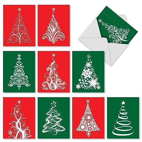 Amazon.com: Fanciful puntiagudos Navidad Tarjeta de broma ...