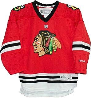 07b31fded07 Amazon.com : Youth Kids Chicago Blackhawks Patrick Kane 88 White ...