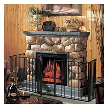 amazon com fireplace baby safety fence hearth gate bbq metal fire rh amazon com fireplace baby gate toys r us fireplace baby gate toys r us
