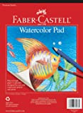Faber-Castell Watercolor Paper Pad - 15 Sheets (9 x 12 inches)