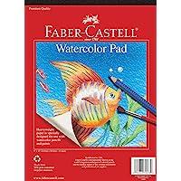 """Watercolor Pad 9""""X12""""-15 Sheets"""
