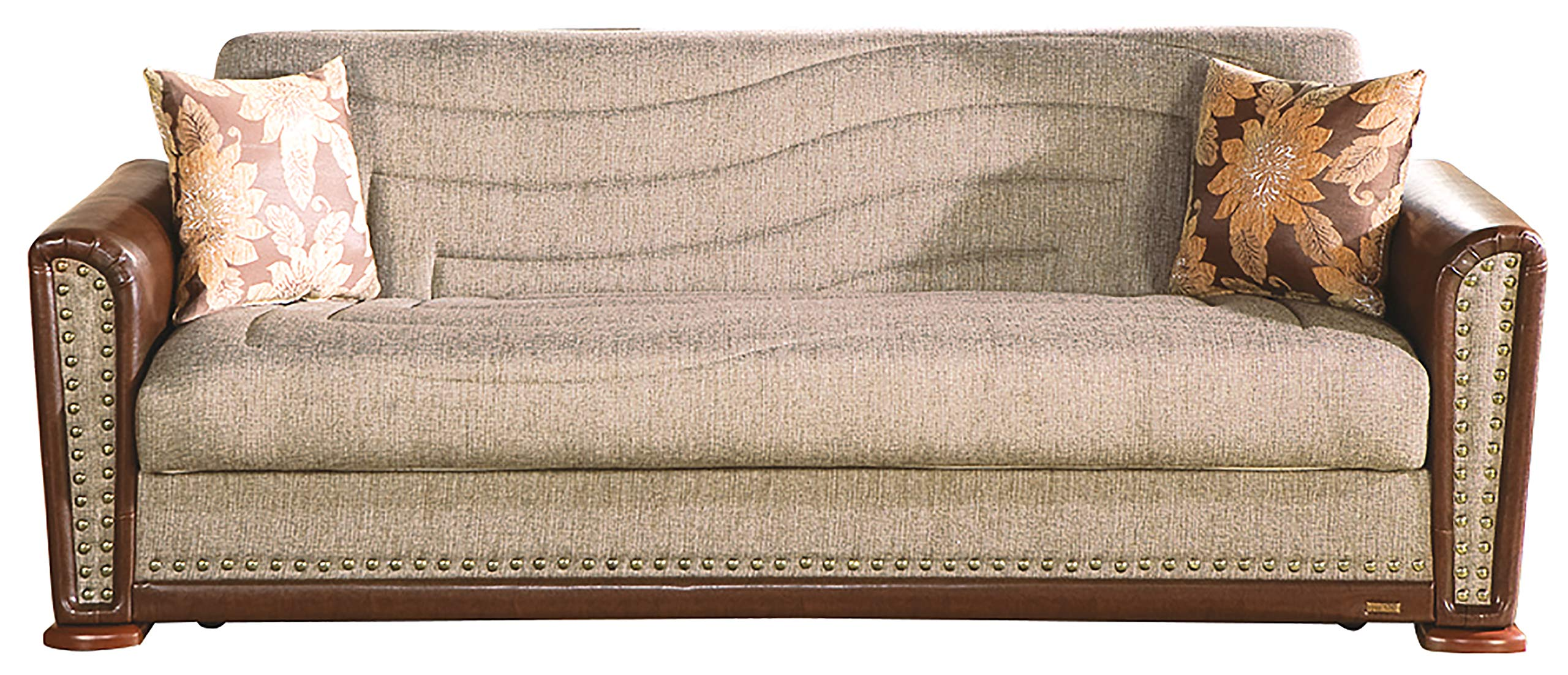 Istikbal Alfa Sofa Bed in Redeyef Brown -  - sofas-couches, living-room-furniture, living-room - 81x 3JSqkVL -