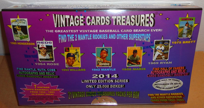 Amazoncom 2014 Vintage Cards Treasures Find The 2 Mantle Rookies