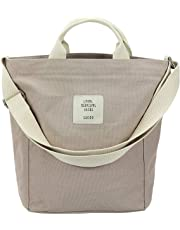Women's Hobo Bag Canvas Shoulder Bag Casual Crossbody Messenger Large Capacity Handbag Tote Travel Bag lightweight Purse