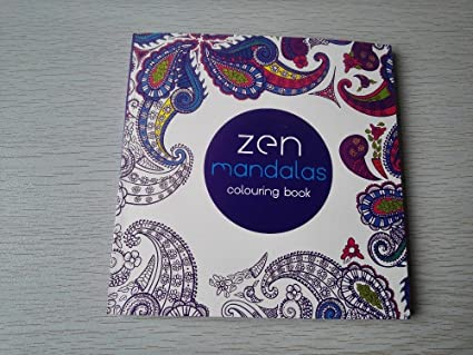 Buy Generic English Edition 128Pages Mandalas Colouring Book ...