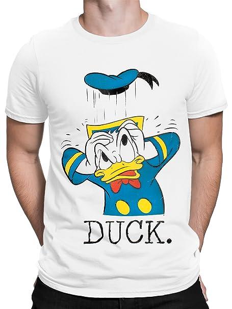Disney Donald Duck Mens Donald Duck T-Shirt Small