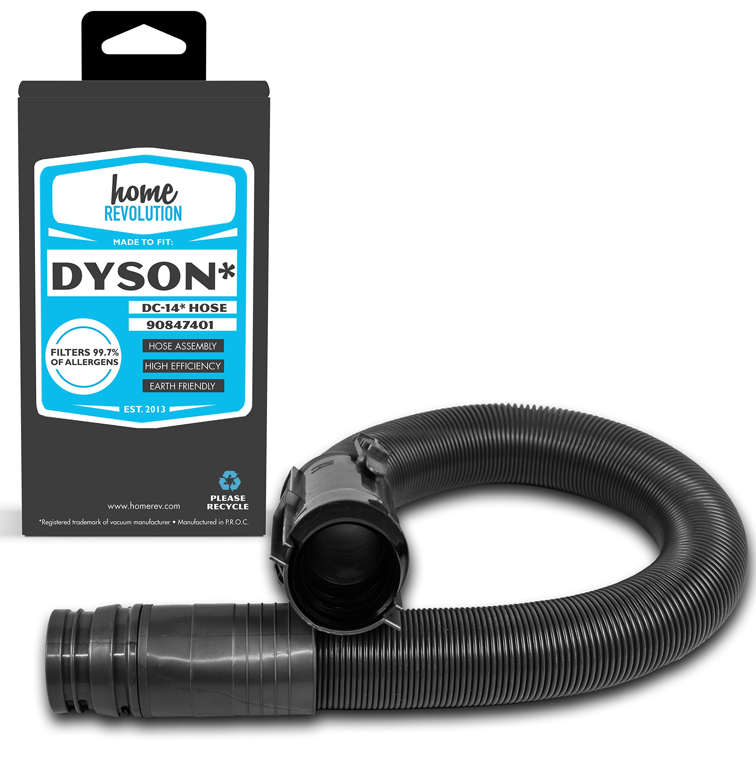Home Revolution Replacement Vacuum Hose, Fits Dyson DC14 All-Floors Bagless Upright, Animal Cyclone Upright Vacuums and Part 908474-01 and 908474-37