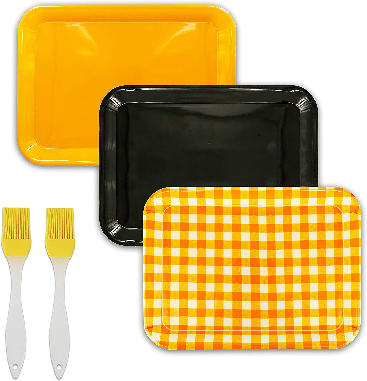 ZYH Prepare Food Tray and Grill Tray (3 sets)-17