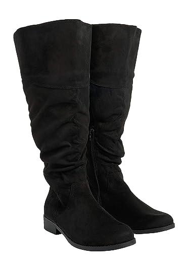 a2c671921203e maurices Women's Knee High Boot - Greta Scrunch Tall Regular and Wide Calf  Boot