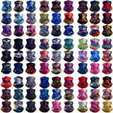 HCMY Multifunctional Neck Gaiter Magic Scarf Outdoor Headwear Bandanas Sports Tube UV Face Mask Balaclava for Workout…