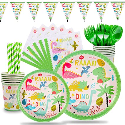 Amazon.com: Dinosaur Party Supplies - Juego de servilletas ...