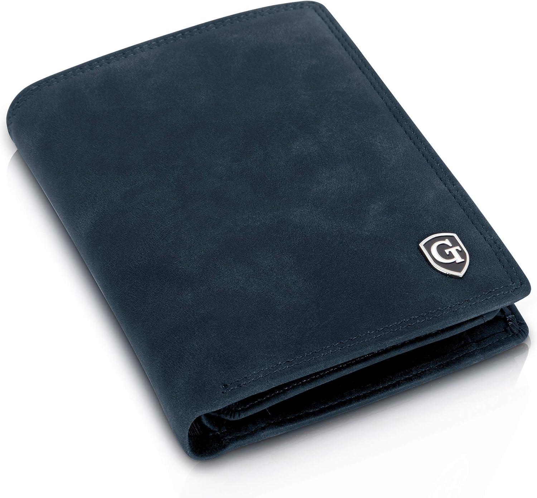 Cartera con Protección RFID y NFC para Hombre