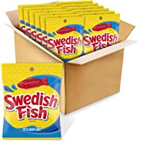 Swedish Fish Original Flavor Candy, 3.6 Oz., Pack of 12