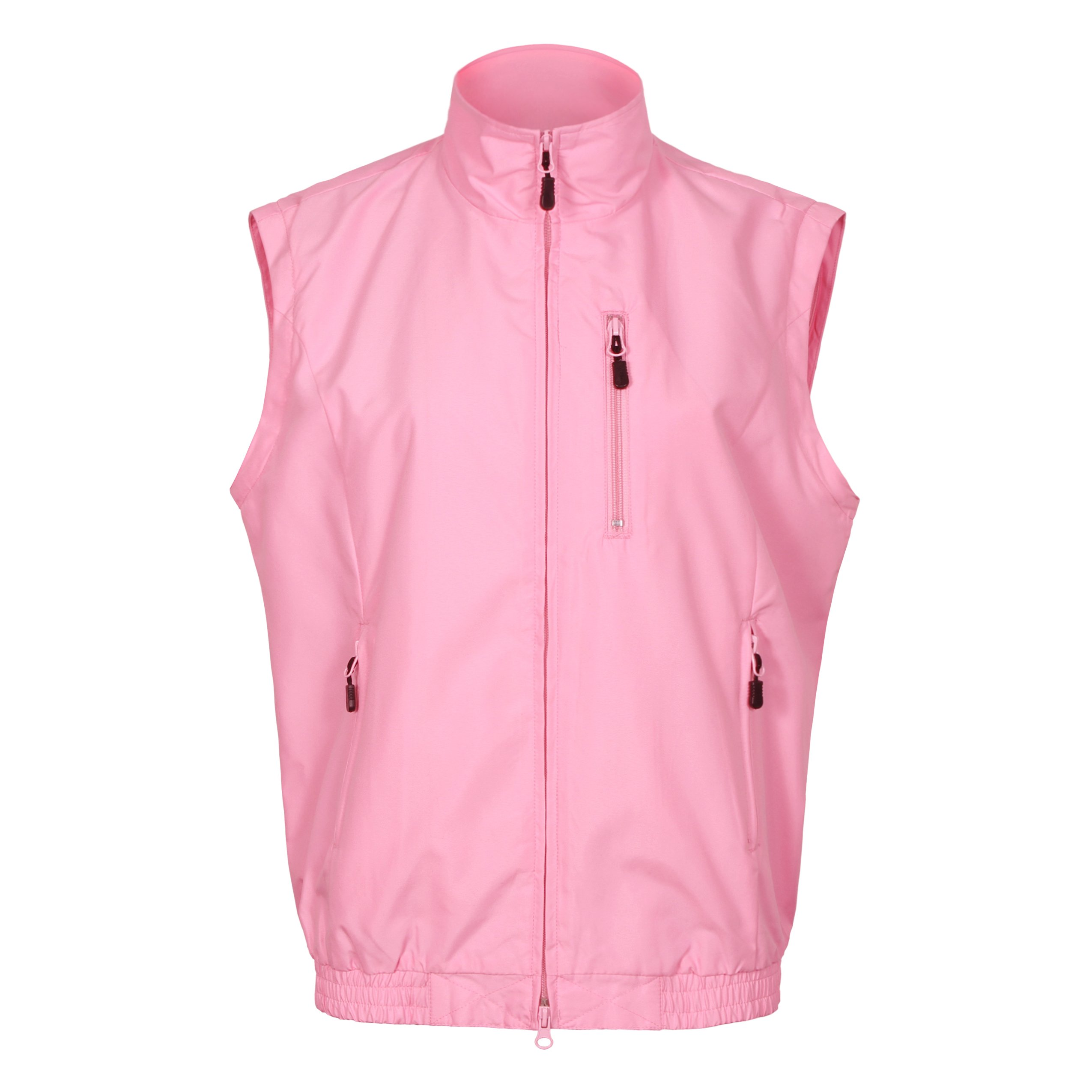 Tres Bien Golf Women's 2 in 1 Convertible Jacket / Vest (Large, Pink) by Tres Bien Golf (Image #2)