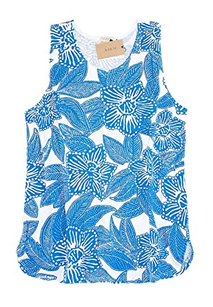 ad95711616e J. Crew Factory - Women s - Floral Print Cotton Tank Top at Amazon ...