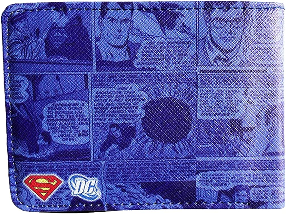 DC Comics Superman Bi-Fold Wallet