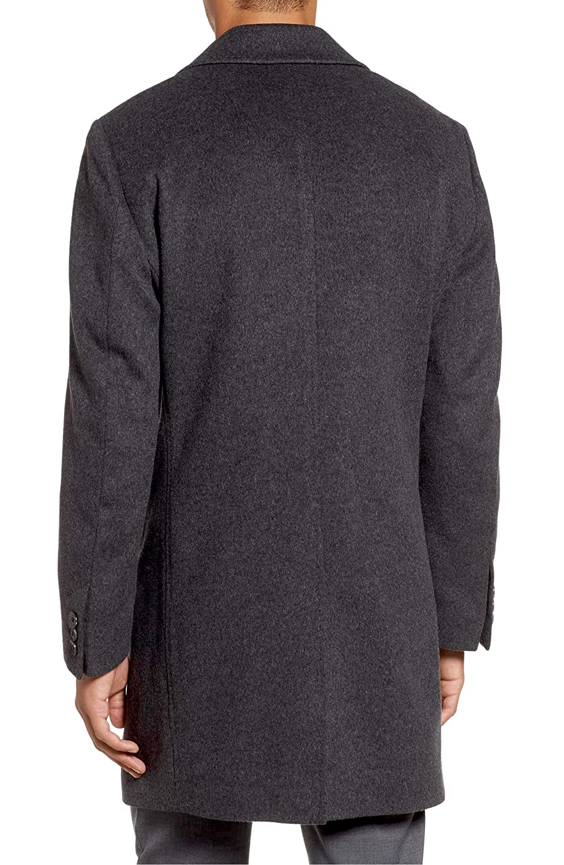 4823563fbbe9 Amazon.com  Hugo Boss Men s Task Wool-Cashmere Charcoal Coat  Clothing