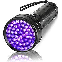 UV Flashlight Black Light Torch, Eocean Ultraviolet Blacklight Flashlights Detector for Dog Urine, Pet Dry Stains, Bed…