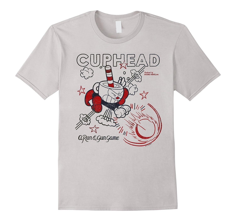 Cuphead Super Vintage Graphic T Shirt-Tovacu