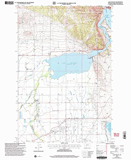 Amazon Com Yellowmaps Lake Helena Mt Topo Map 1 24000 Scale 7 5