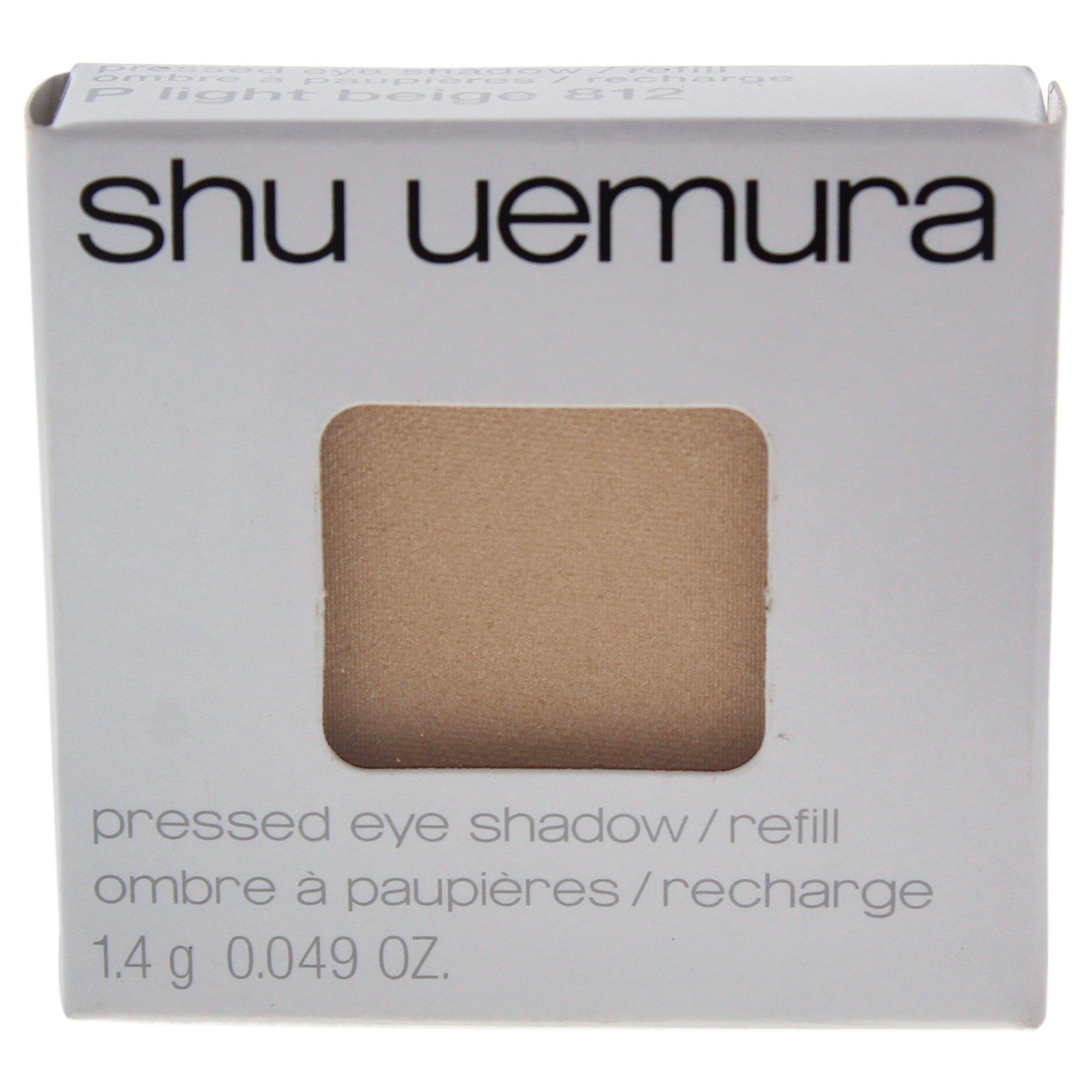 Shu Uemura Pressed Eye Shadow, 812 P Light Beige (refill), 0.049 Ounce