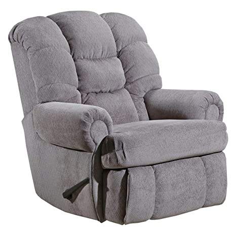 Tremendous Elegant And Comfortable Push Back Tufted Recliner With Decorative Stitch Gray Pdpeps Interior Chair Design Pdpepsorg
