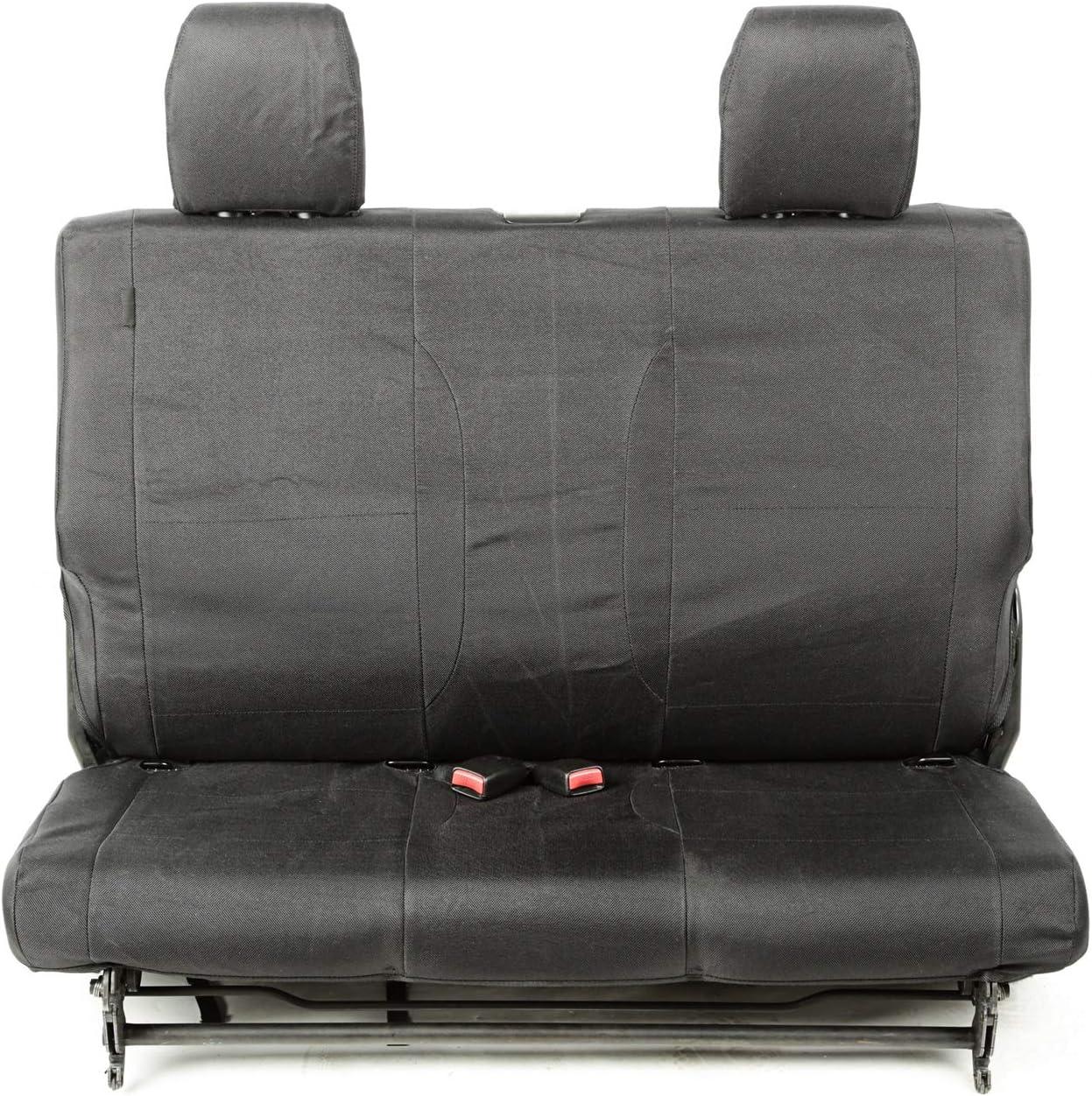 Rugged Ridge 13266.01 E-Ballistic Seat Cover Rear Black 07-10 JK 2Dr