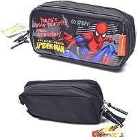 Spiderman Kalem Çantası Çift Gözlü Fermuarlı Kalem Kutusu 20x10cm