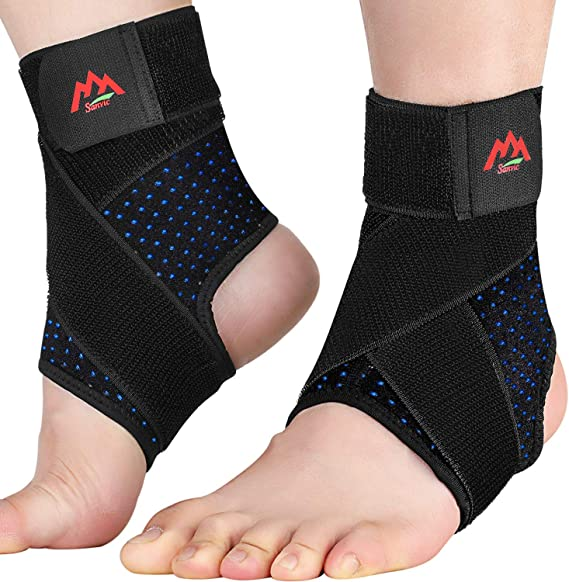 1Pc Breathable Fatigue Relieve Ankle Brace Support Adjustable Foot Protection Sleeve Dioche Ankle Brace Support