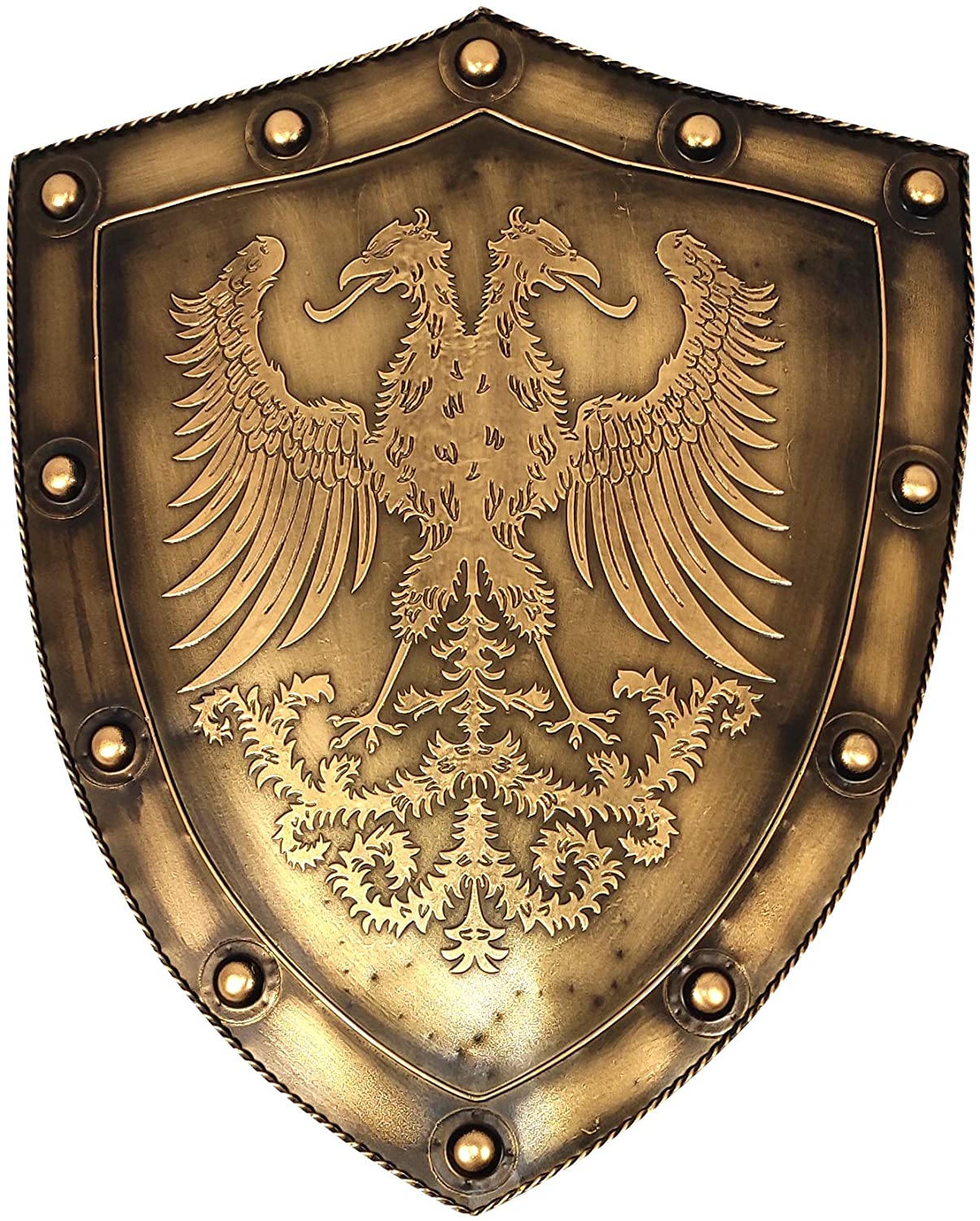 LOOYAR Medieval Holy Roman Empire Display Shield 24 Inch Wall Décor Decoration