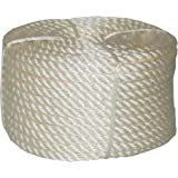 T.W . Evans Cordage 32-066 3/4-Inch by 100-Feet Twisted Nylon Rope Coilette