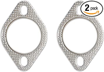 4 pieces 2.5in 2 1//2 High Temperature Exhaust Gasket Flange Industrial Stainless Steel 2.5 INCH AMD