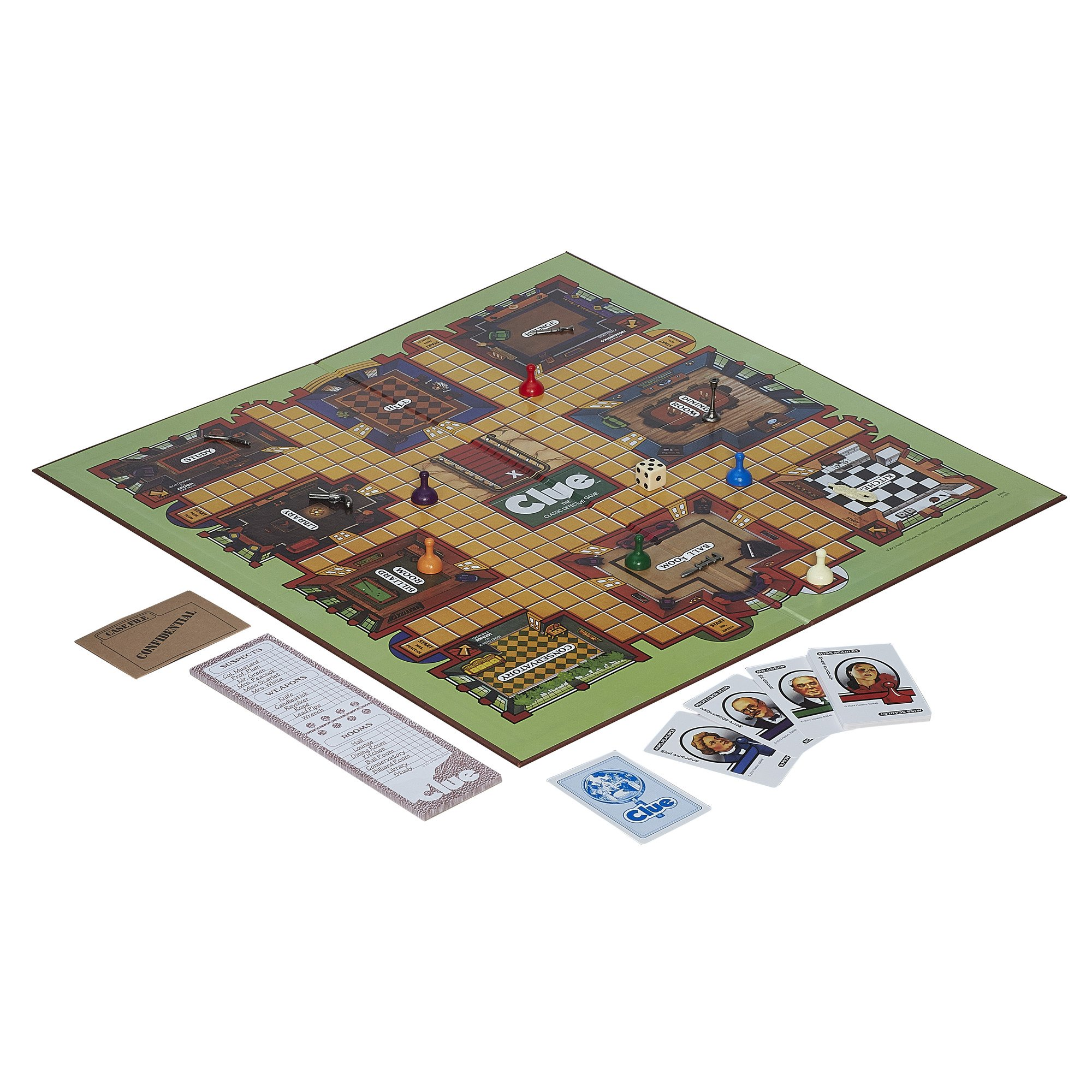 Retro Series Clue 1986 Edition Game by Hasbro (Image #2)