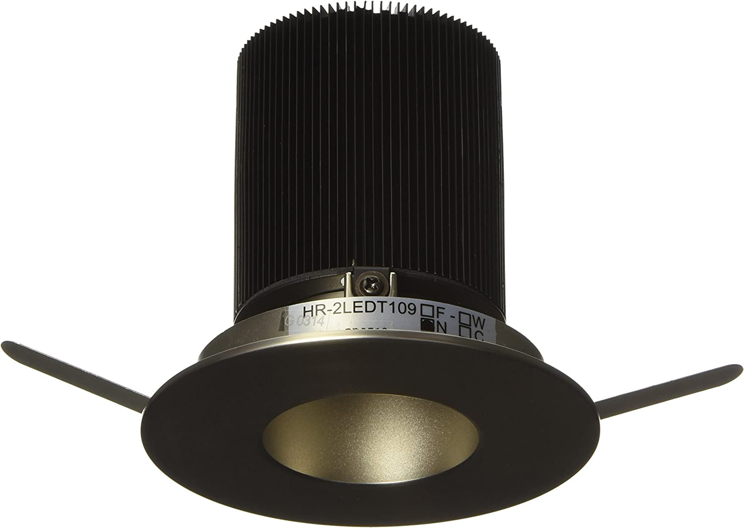 B00ECF96NQ WAC Lighting HR-2LED-T109N-27BN Tesla - LED 2-Inch Open Round Trim with 26-Degree Beam Angle and Warm Light 2700K 81x-RPckMGL.SL1500_