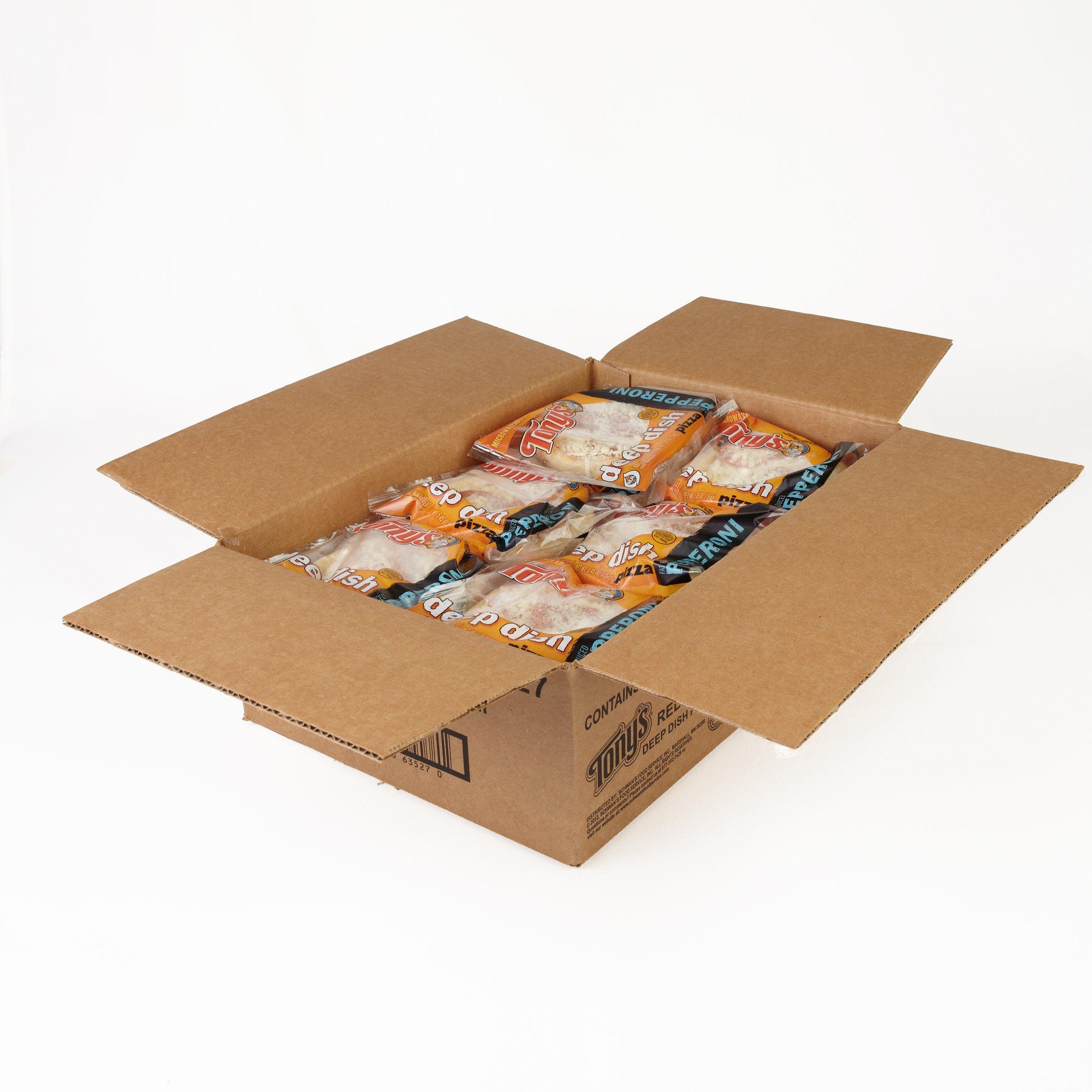 Tony's Deep Dish, Pepperoni Pizza, 5.45 oz, (24 count)