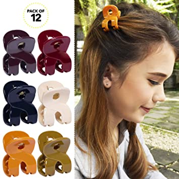 Half Claws Hair Clips Plastic Hairpin Paw for Ladies Hair Accessories