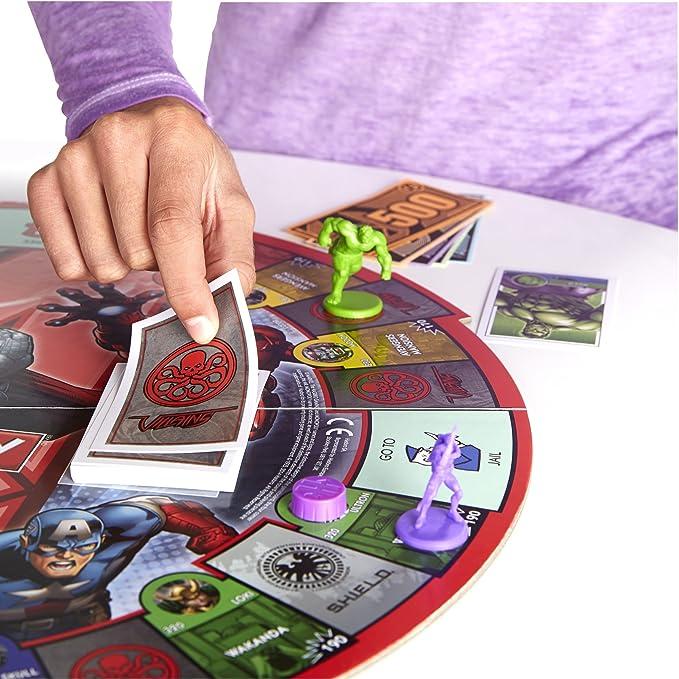 Amazon.com: Juego de mesa Monopoly, con diseño ...