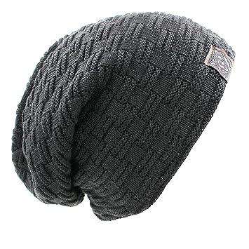 21e2ed5de6e Donna Pierce Solid Design Skullies Bonnet Winter Hats For Women Men Beanie  Men s Faux Fur Warm