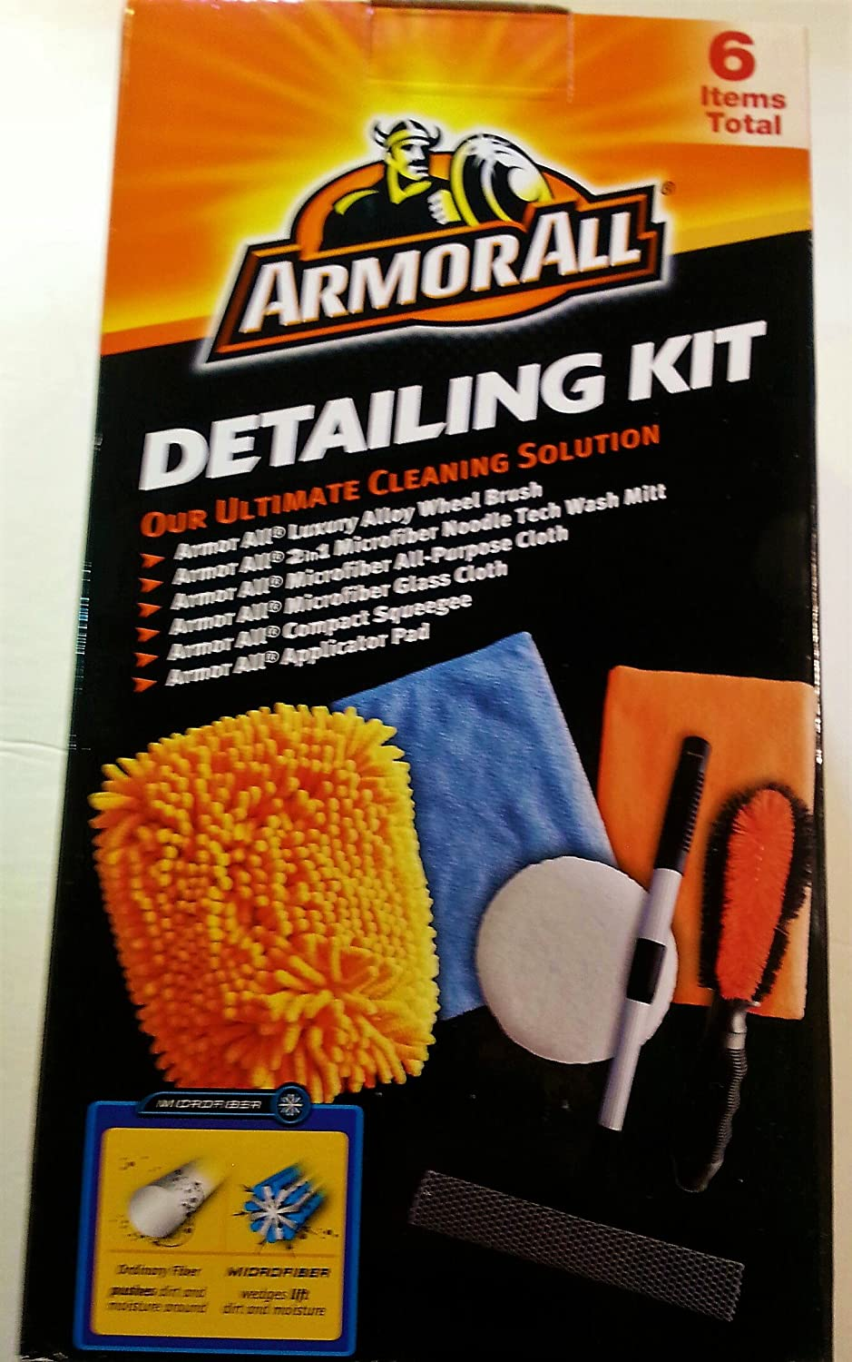ArmorAll Ultimate Cleaning Solution Detailing Kit, 6 Items in Kit STP Products