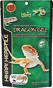 Hikari DragonGel Food for Vegetable and Insect-Eating Lizards, 2.11 oz (60g)