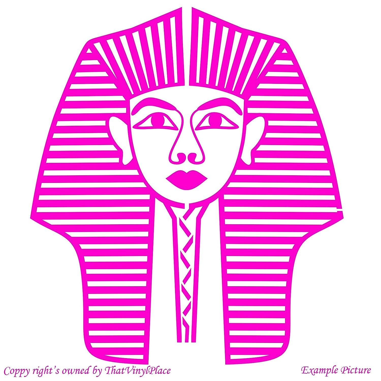 Pharao, Pharaos, Cleopatra, Ägypten, ägyptische Göttin ägyptisches Gods (58  Cm X 66 Cm Cm), Farbe: Pink, Das Badezimmer, Kinderzimmer, Kinder,  Kinderzimmer, ...