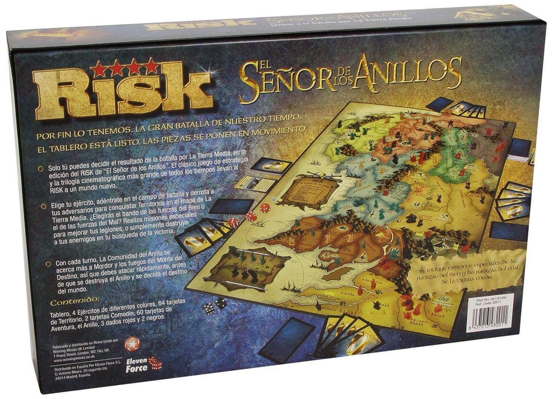 Risk  El seor de los Anillos juego de mesa Amazones Juguetes