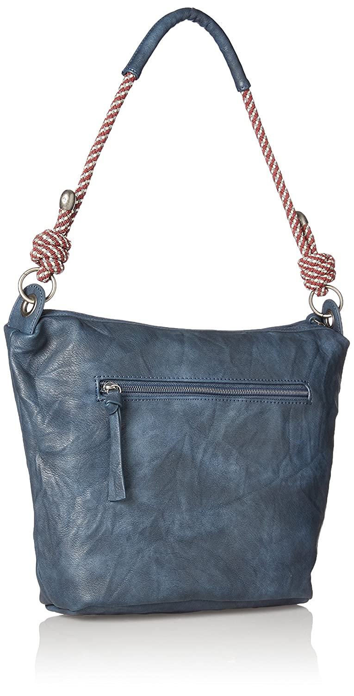 Tamaris Lindsey Crossbody Bag, Sacs bandoulière femme, Blau (Navy), 26x12x24 cm (B x H T)
