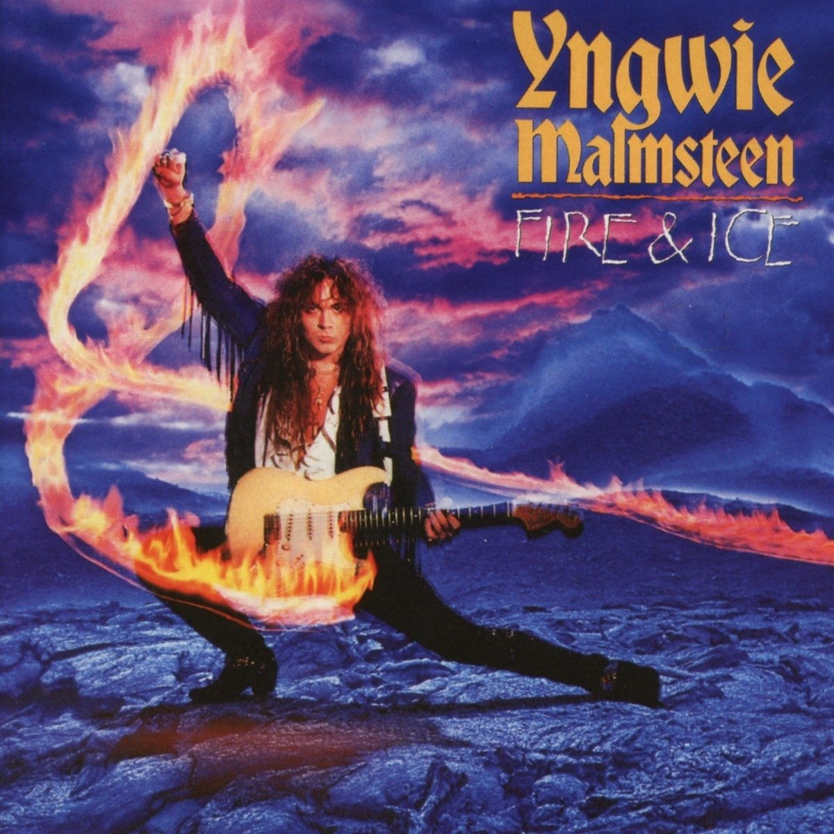 CD : Yngwie Malmsteen - Fire & Ice (Expanded Version, United Kingdom - Import)
