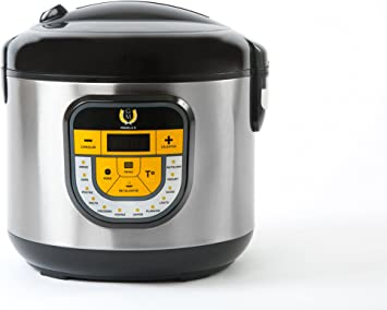 GM Olla programable modelo Beta, 1500 W, 5 litros, Plata: Amazon.es: Hogar