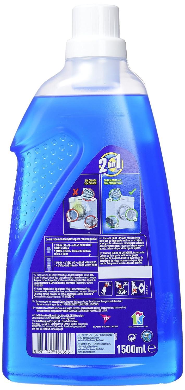 Calgon Antical Gel Regular - 1,5 L: Amazon.es: Salud y cuidado ...